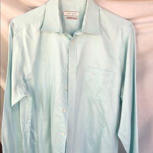 Joseph Abboud mint green dress shirt
